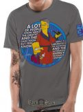 THE SIMPSONS - BART & HOMER  T-Shirt.  filmes póló
