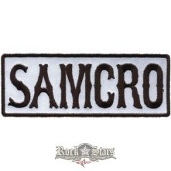 SOA - SONS OF ANARCHY - Samcro logo felvarró