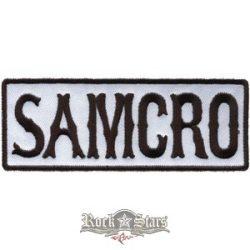 SOA - SONS OF ANARCHY - Samcro logo felvarró