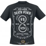 Five Finger Death Punch -F8.   zenekaros  póló.