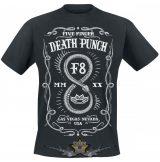 Five Finger Death Punch -F8.   zenekaros  póló.