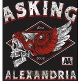 ASKING ALEXANDRIA - HELION  felvarró