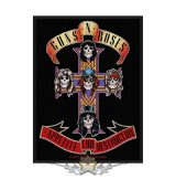 Guns N' Roses - Standard Patch.  Appetite (Retail Pack).  felvarró