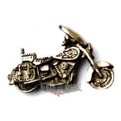 Motor design kitűző,  BE. fém motoros jelvény