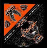Upwing Eagle Bandana - Official 76th Sturgis Motorcycle Rally. .USA.  vászon kendő