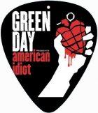 GREEN DAY - AMERICAN IDIOT.  pengető nyaklánc