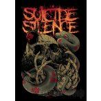 SUICIDE SILENCE - SKULL. zenekaros zászló