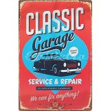 Garage - Service & Repair, Metal Tin Sign, Wall.  20X30.cm. fém tábla kép