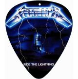 METALLICA - RIDE THE LIGHTING.  pengető nyaklánc