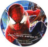 Spiderman lapostányér, melamin