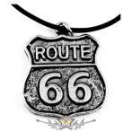 ROUTE 66.     nyaklánc, medál
