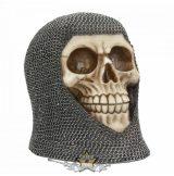 Hard Days Knight Armour Skull Gothic Gift 16.3cm.  koponya figura