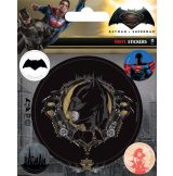 BATMAN V SUPERMAN (BATMAN) . Vinyl stickers. matrica szett