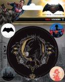 BATMAN V SUPERMAN (BATMAN) . Vinyl stickers. matrica szett