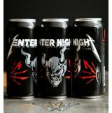 Metallica - Enter Night.   Pilsner 500ml. rock ital, dobozos sör