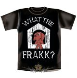 WHAT THE FRAKK ?   vicces, poen póló