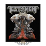 Testament Standard Patch - Brotherhood of the Snake.  felvarró