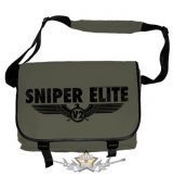 SNIPER ELITE - LOGO (BLACK). Messenger bag. válltáska
