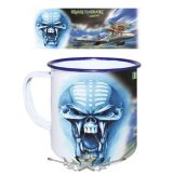 Iron Maiden - Flight 666.  zománcozott retro fém bögre