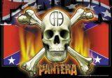 PANTERA - Confederate TEXTILE POSTER. zenekaros zászló