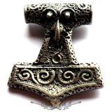 THOR HAMMER - Thor kalapács Mjölnir nyaklánc 11.   nyaklánc, medál