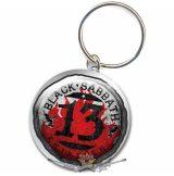 Black Sabbath - Standard Keychain - 13.  fém kulcstartó + medál