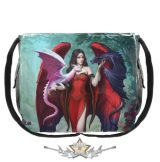 Dragon Mistress Messenger Bag. 40cm.   . válltáska