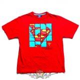 SUPERMAN - Mozaik Logo. filmes  póló