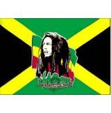 BOB MARLEY - FREEDOM. TEXTILE POSTER. zenekaros zászló