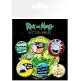 Rick and Morty - Mix.  BP0770. jelvényszett