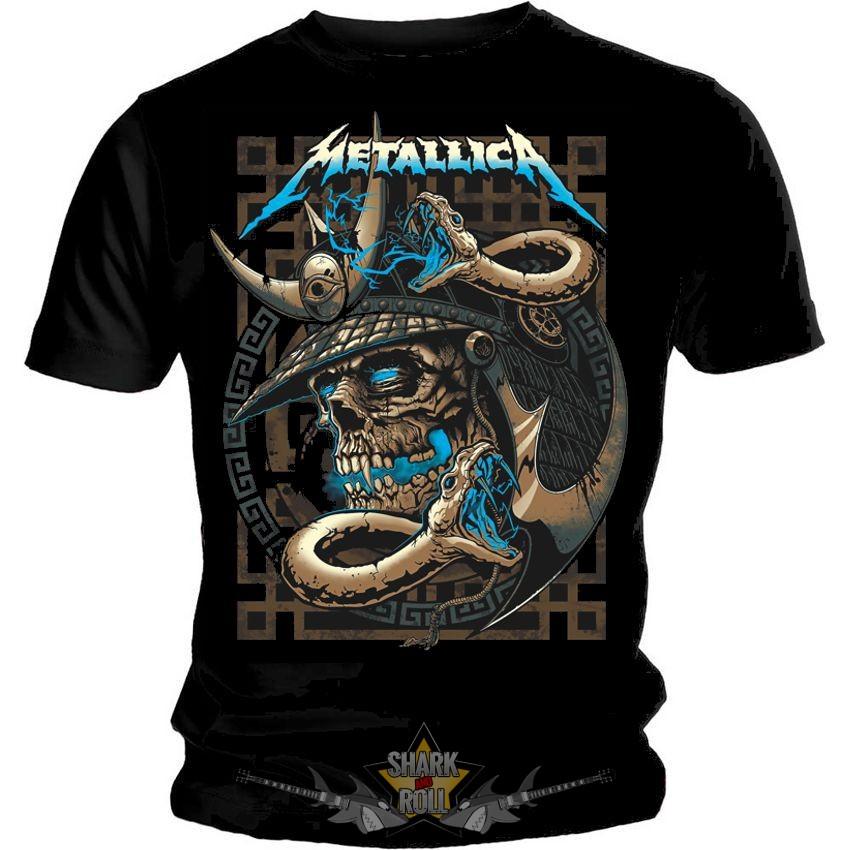 METALLICA - SNAKE. Men s Tee. zenekaros póló. - Shark n Roll - Rock ... a00bc30de7