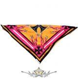 Háromszög formájú  kendő.- Iron cross.    vászon kendő