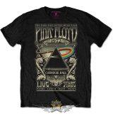Pink Floyd - Carnegie Hall Poster Mens Blk TS.  zenekaros  póló.