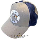 Pink Floyd - Unisex Baseball Cap.  Circle Logo  (2 Tone) sötétkék oldal betét.   baseball sapka