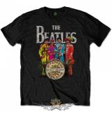 The Beatles - Men's Tee Sgt Pepper.  zenekaros  póló.