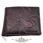 Black Widow.   11cm.  WALLET.  import pénztárca