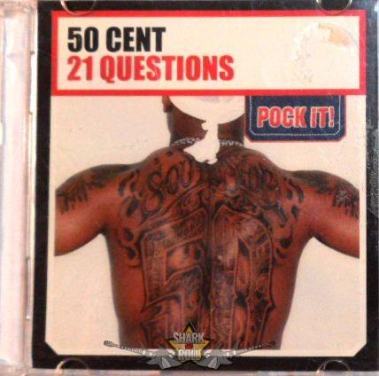 1425adfc0b 50 CENT - 21 QUESTIONS. Pock It. Mini Single CD. RITKA ! - Shark n ...