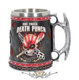 Five Finger Death Punch - Tankard 15cm. korsó, kehely. Előrendelhető !