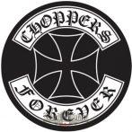 CHOPPERS FOREVER  felvarró