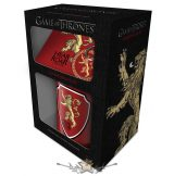 Game of Thrones (Lannister).  GIFT SET.  korsó, kehely, bögre