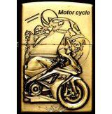 MOTOR CYCLE BRONZE 2.  zippo fazonú öngyujtó