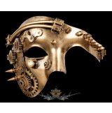 Steampunk - Maske - Mechanic-Face.  álarc, maszk