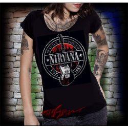 NIRVANA - SEATTLE  női póló