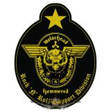Motorhead - Standard Patch - Support Division Cut-Out .     import zenekaros felvarró