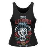 ASKING ALEXANDRIA - GREASE.   női póló, trikó