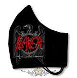 SLAYER - EAGLE - Textil pamut kétfalas szájmaszk.   maszk, védőmaszk