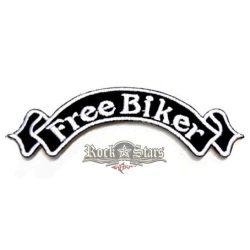 FREE BIKER.  felvarró