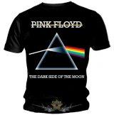 Pink Floyd - Dark Side Of The Moon - Vintage logo.  Black T Shirt. zenekaros póló