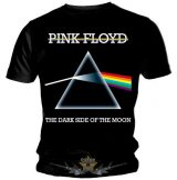 Pink Floyd - Dark Side Of The Moon - Vintage logo.  Black T Shirt. zenekaros póló