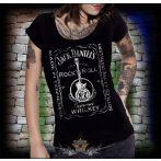 JACK DANIELS - Guitar.  női póló